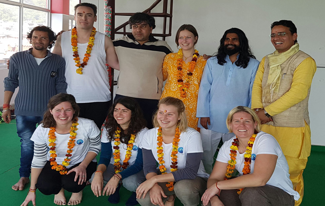 Hatha Yoga Teacher Training India in February 2017