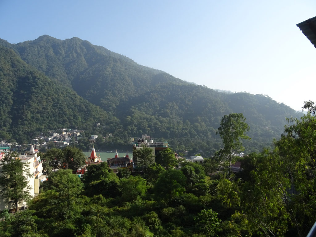 Beautiful nature of Rishikesh in India