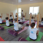 aspiring yoga instructor group at gyan yog breath