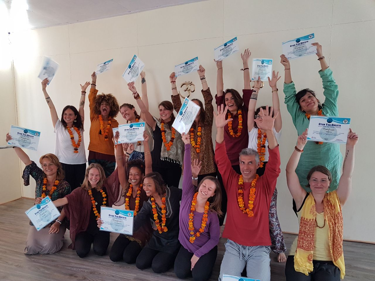 November 2017 – Our amazing 200 and 300 Hour Yoga Teacher Training Course in Rishikesh