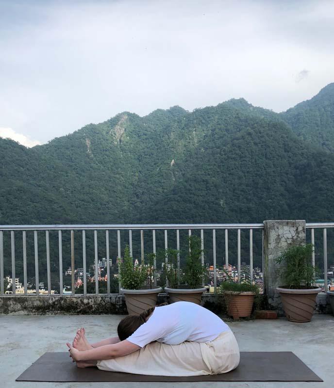 Paschimottanasana (Back Stretching Posture) – Benefits, Adjustment & Cautions