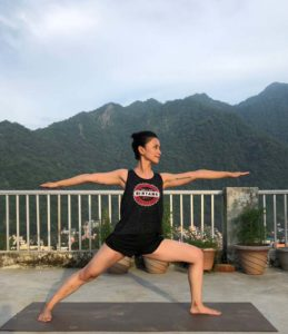 reducing excesss body weight by yoga
