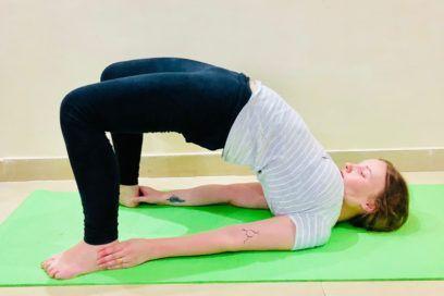 Setu Asana (Bridge Pose) – Benefits, Adjustment & Cautions