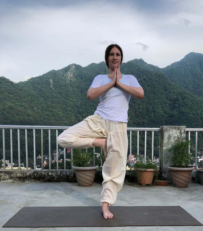 Vrikshasana or Tree Pose – Ultimate balance for everyday life