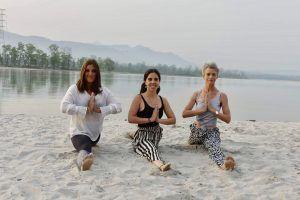 yoga grounding immigrant